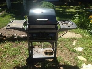 Small Barbecue (bbq) with side burner