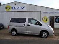 Nissan NV200 5 Seat Constables Wheelchair Accessible WAV MPV