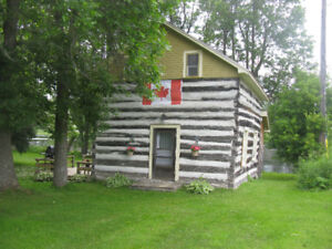 Beautiful log cabin for rent