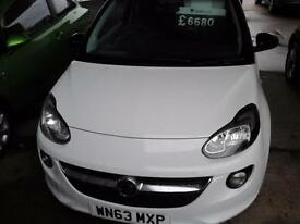 2013 VAUXHALL ADAM JAM S/S ONLY £30 A YEAR TAX HATCHBACK PETROL