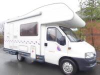 Ci Carioca 22 4 berth end kitchen coachbuilt motorhome for sale Ref 13045
