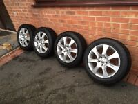 205/55/16 winter tyres and alloys Ford S max 2011 , Mondeo,Galaxy,Focus