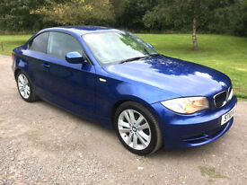 2010 BMW 118 2.0 TD DIESEL SE COUPE 1 SERIES 2 OWNERS - IMMACULATE CAR