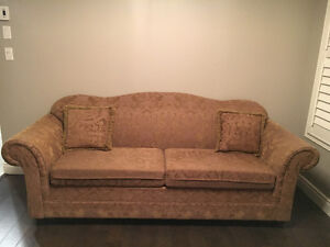 3 Piece Sofa Set, Coffee/Side Tables & Mirror - Great Condition!