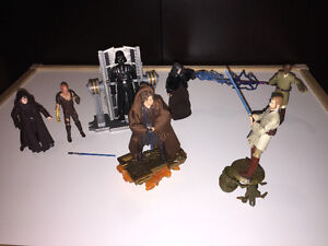 Star Wars: Anakin to Vader, Sith/Jedi duel figure collection