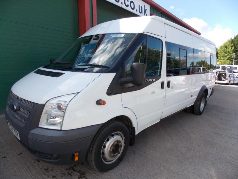 Ford Transit 430 17 Seat Euro 5 PSV Tested