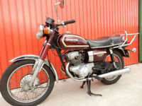 HONDA CD200 BENLY 1979 ELECTRIC START VMCC ELIGIBLE ONLY 17600 MILES