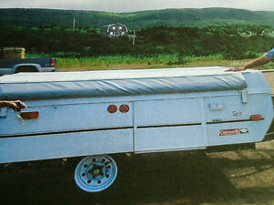 COLEMAN TAOS 2003 POP UP TRAILER - LIKE NEW!!!