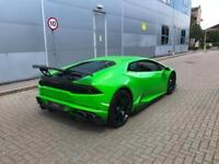 2015 15 Lamborghini Huracan LP-610 4 GREEN + CARBON BODY STYLING KIT + SPORTS EX