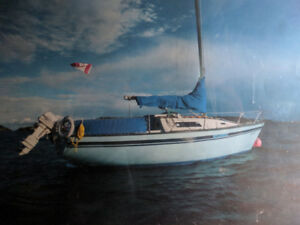1976 San Juan 24' for parts or project (No rudder) Nanaimo, BC