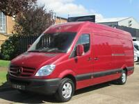 2009 Mercedes Sprinter 311CDI LWB High Roof. GENUINE LOW 55,000 MILES. FSH. PX