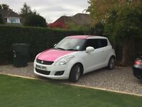 Suzuki Swift SZ3 (pink can be removed)