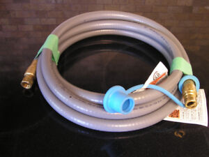 New Unused 12' Natural Gas BBQ Hose With Quick Connect