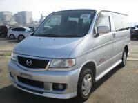 Mazda Bongo, 2003, Auto, Petrol, Silver, low mileage, 36 month dealer warrantee