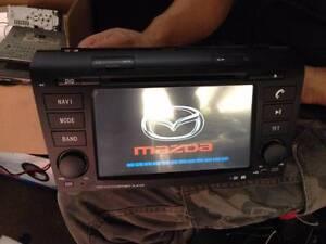 7 inch Mazda 3 sp23******2008 car DVD GPS free reverse camera Hurstville Hurstville Area Preview