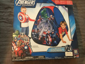 New Marvel Avengers Play Tent with Thor, Hulk, Iron Man, etc.