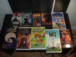 46 VHS ENGLISH MOVIE
