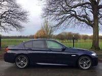2010 60 BMW 5 SERIES 2.0 520D M SPORT 4D AUTO 181 BHP DIESEL