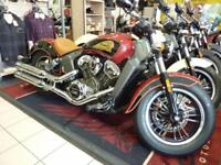 INDIAN SCOUT 1133 2-TONE BRAND NW 2017 model for 2018 REG