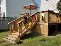 Get your new deck now! Don't wait for summer to be over!
