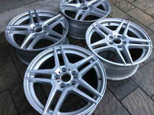 Mercedes benz rim amg type style mag 17 pouces