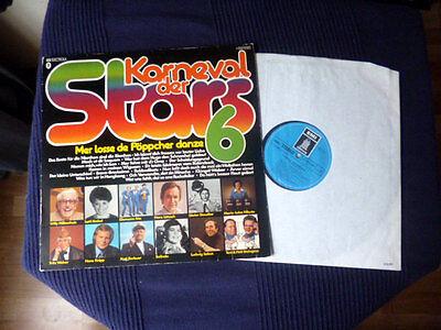 LP Karneval Der Stars FOLGE 6 EMI 1976 Millowitsch Krekel Knipp Heino Elemann