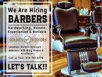 HIRING BARBER FOR BUSY SHOP