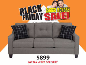 BLACK FRIDAY SALE - HUDSON SOFA $899 - NO TAX - FREE DELIVERY