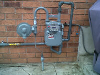 Gas line installations to all appliances