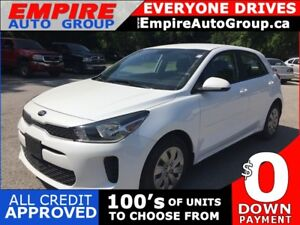 2018 KIA RIO BACKUP CAMERA * HEATED SEATS * BLUETOOTH * LOW KM