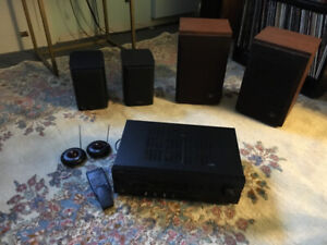 Great audio system! Receiver and four speakers.. great value!!!