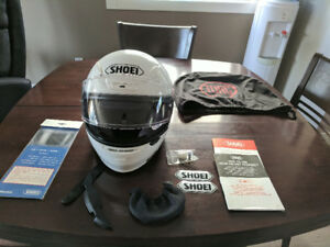 New Shoei RF-1200 helmet, purchased but never used, size XS