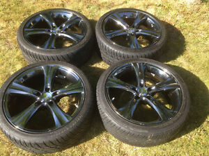 "BOSS 18"" Wheels and 225/40ZR18 Tires - Used"