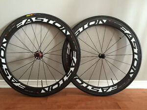Roues carbone Easton ec90 aero Triathlon - Contre-la-montre