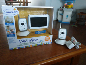 Summer Wide view video monitor with extra camera.