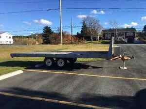 8'X24' deck-over trailer