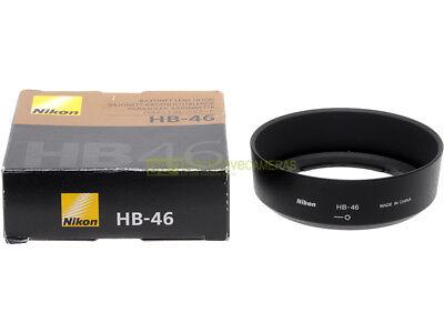 Nikon paraluce HB-46 x obiettivo Nikkor AF-S 35mm. f1,8 G. Nuovo, originale.