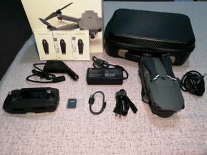 Drone Dji Mavic Pro Like New with box and case