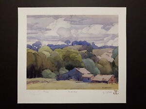 """A. J. Casson """"The Seasons"""" Limited Edition set"""