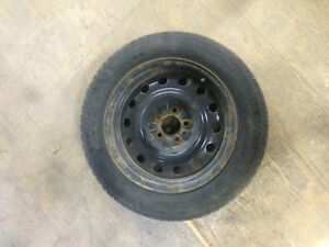 4 Michelin X-ICE Winter Tires with Rims London Ontario image 1