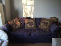 Free super-comfy 3 seater sofa
