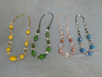 Colourful necklaces for all ocasions