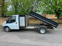 2008 Ford Transit Tipper 2.4TDCi 100PS DRW LWB ExCouncil FULL SERVICE 78,839 mls