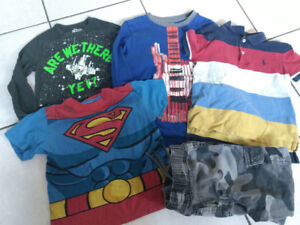 Lot of boys size 5T clothing