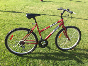 """Red Supercycle mountain bike (26"""")"""