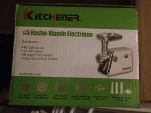 NEW Meat Grinder and Mixer