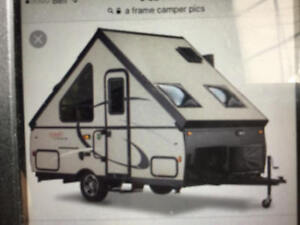 Wanted used A- frame camper