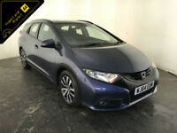 2014 64 HONDA CIVIC I-DTEC SE+ DIESEL ESTATE 1 OWNER HONDA HISTORY FINANCE PX
