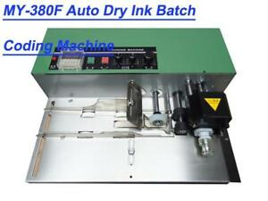 Solid-ink Coding Machine 300(pcs/min) Coding Machine Date T-type and R-type Coding Machine(MY-380F) (Item# 181070)