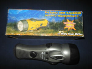 Survival Flashlight & Radio